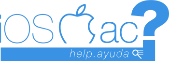 Ayuda iOS – Mac – iPhone – iPad